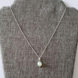HOST PICK!Sterling Natural Australian Opal Pendant